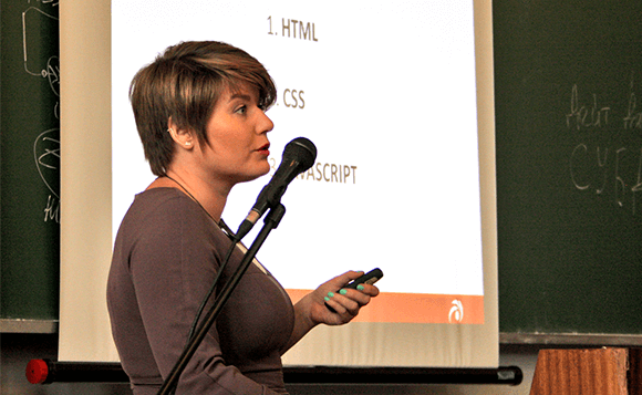 Olga Krivchenko Presentation on front-end