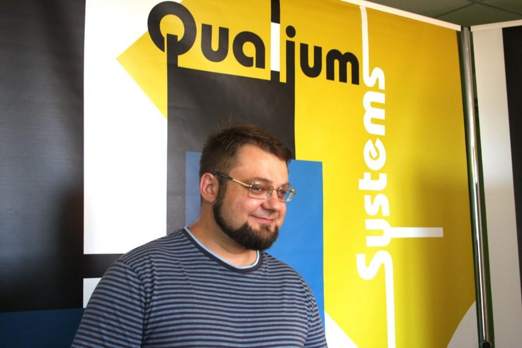 Alexander Cherkassky Qualium Systems OdessaJS 2016