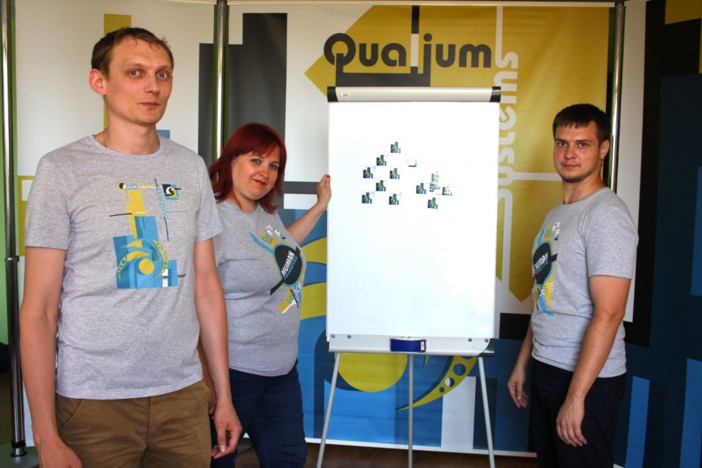 Qualium Systems Team OdessaJS 2016