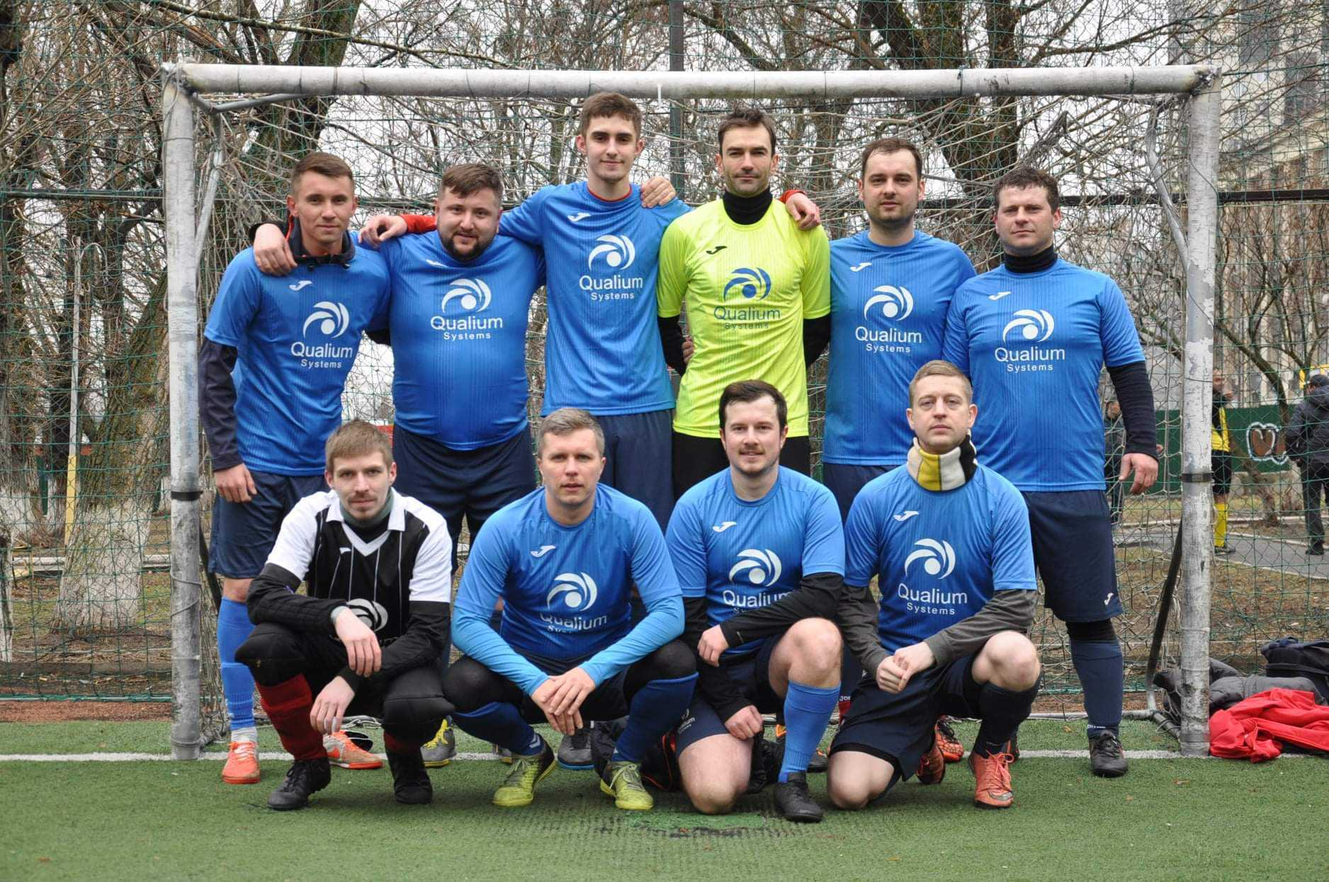 The Qualium Systems mini_football team took the second place in the Middle IT League of Kharkiv