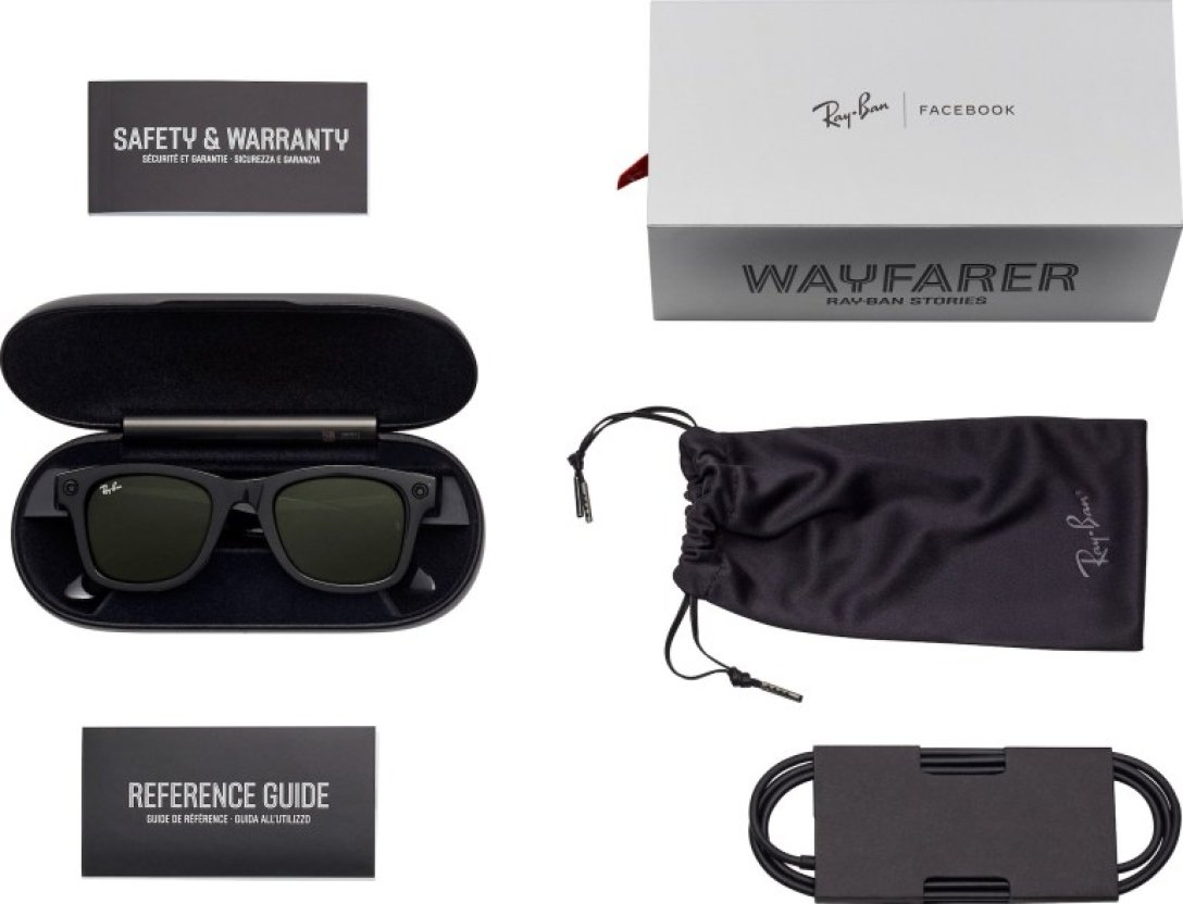 Facebook teamed up with Ray Ban on September 9 to unveil Ray-Ban Stories smart glasses