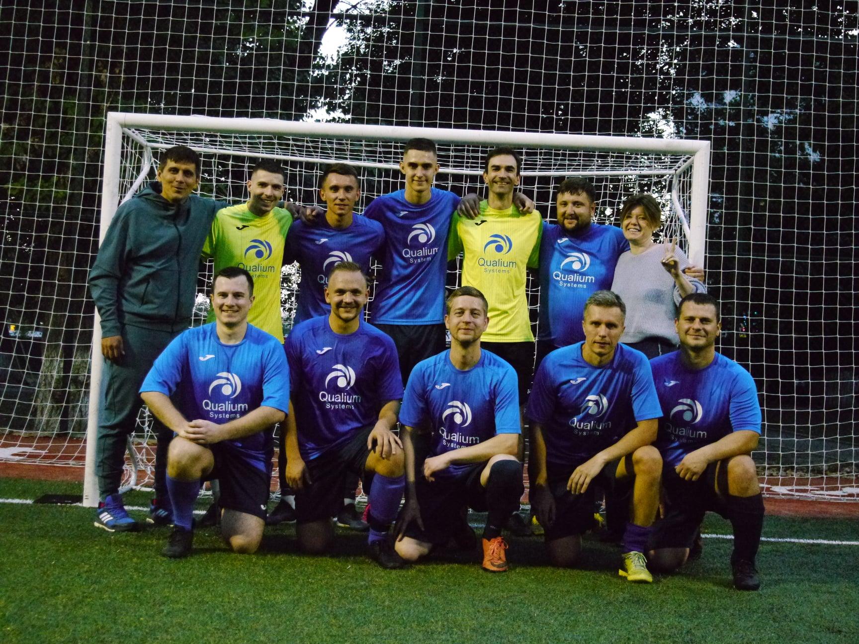 The Qualium Systems futsal team has advanced to the Senior IT League of Kharkiv